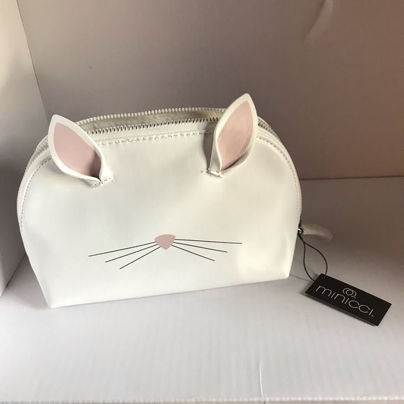 Minicci Handbags - NWT Bunny/Kitty White purse